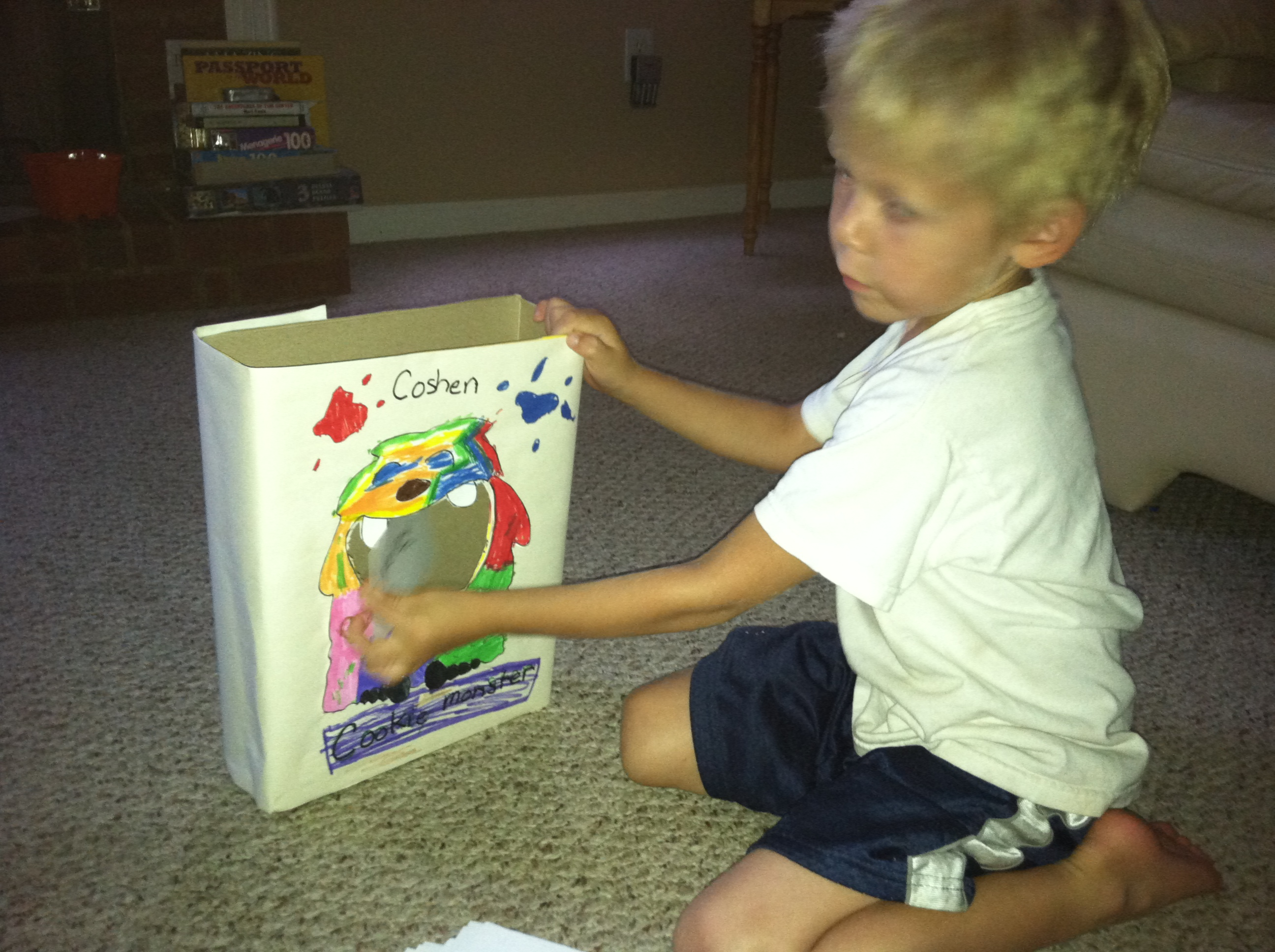 Teaching the little one to read:  my biggest fear!