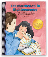 For Instruction In Righteousness-> Review/Giveaway for Doorposts