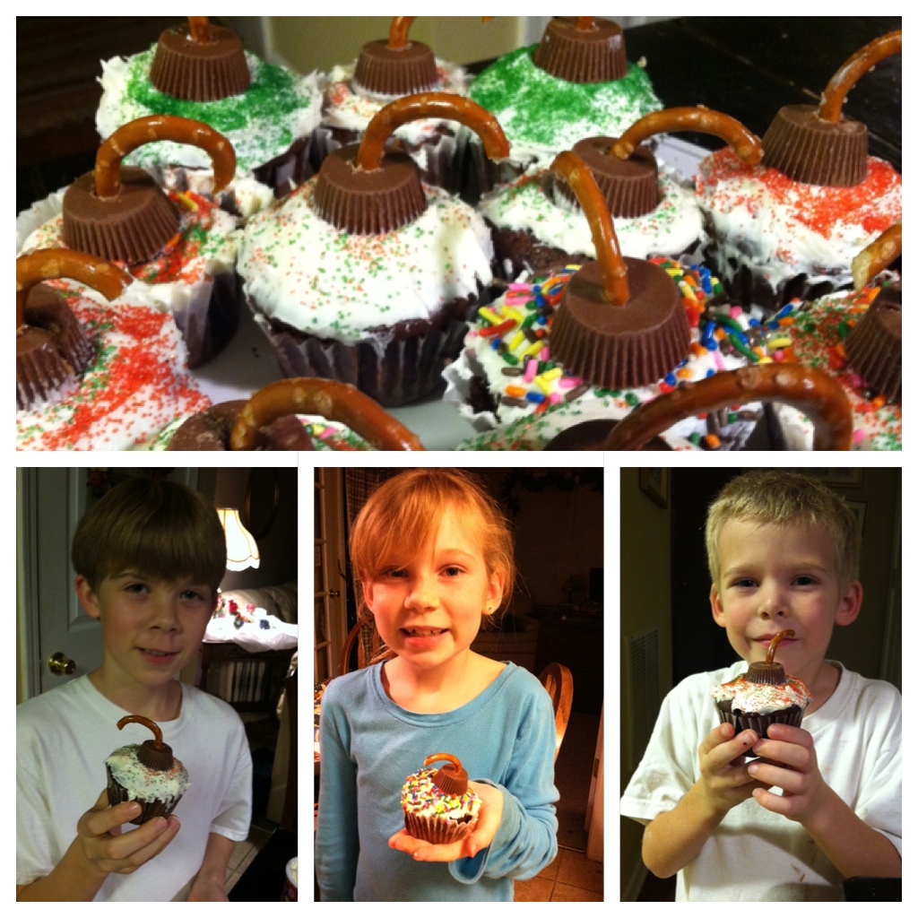 Cupcakes from Christmas