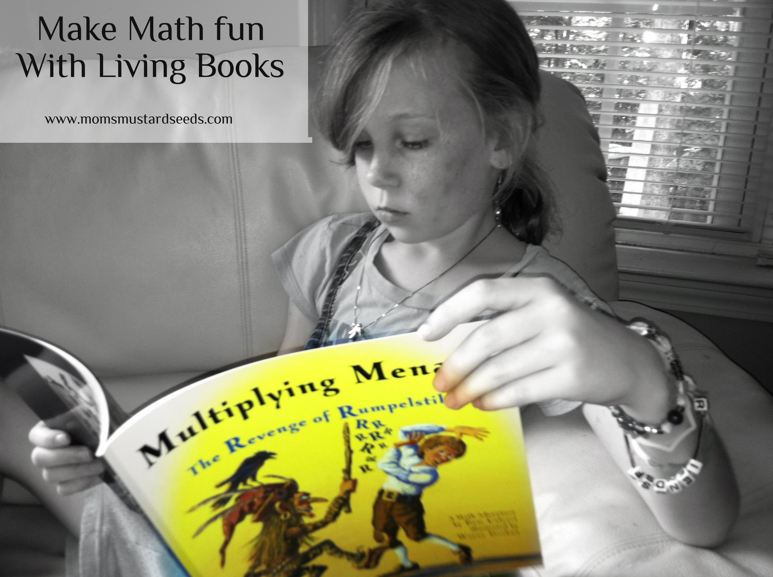 Multiplying Menace A Living Math Book