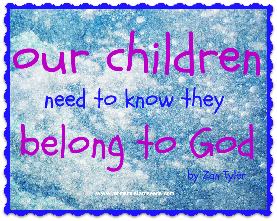 Children Belong To God