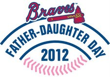 Father Daughter Day with the Atlanta Braves GIVEAWAY
