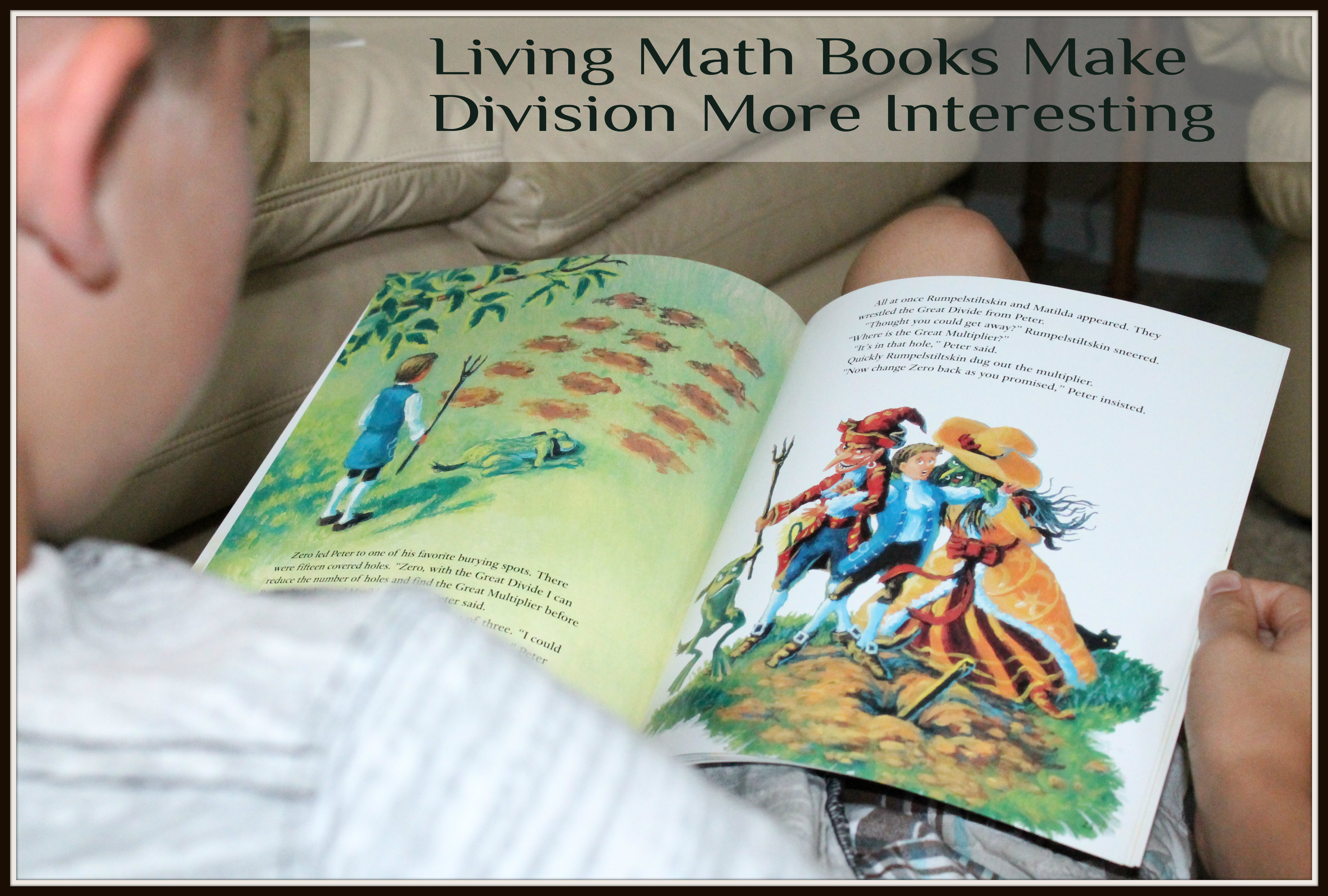 Learning Division with Living Books