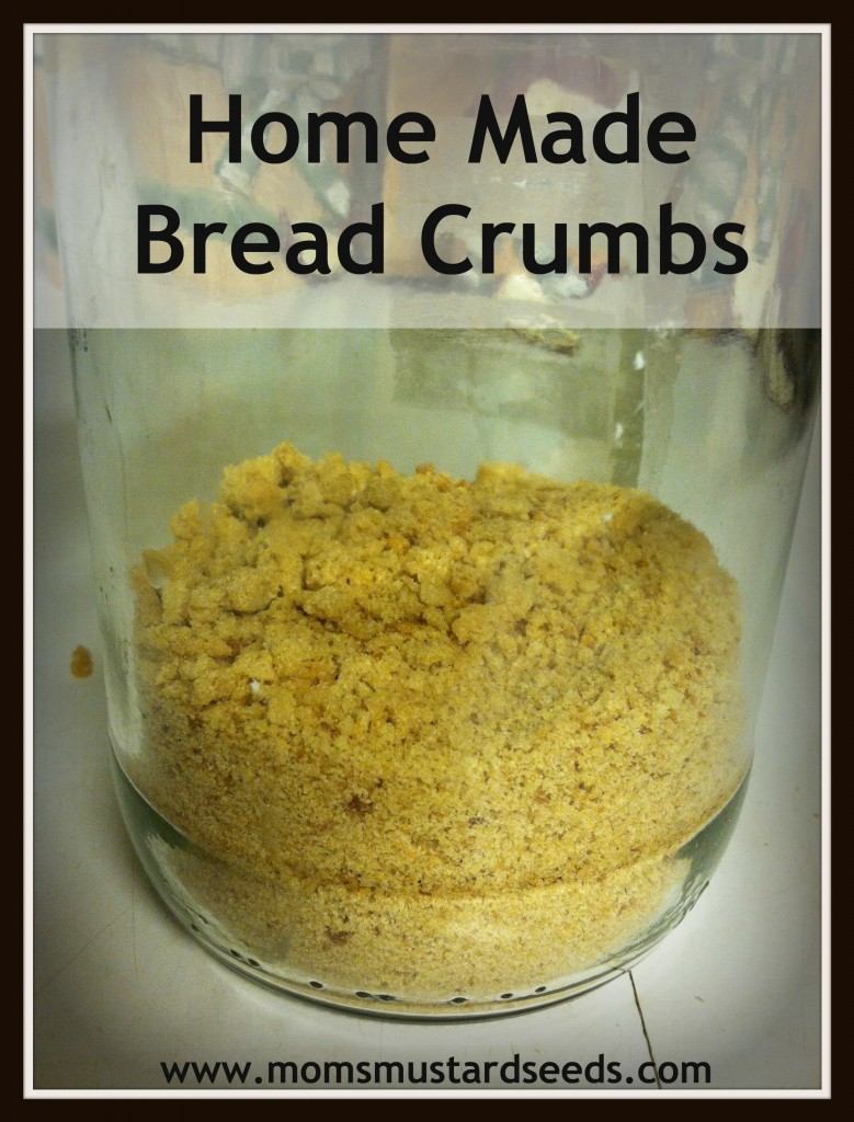 Home Made Bread Crumbs