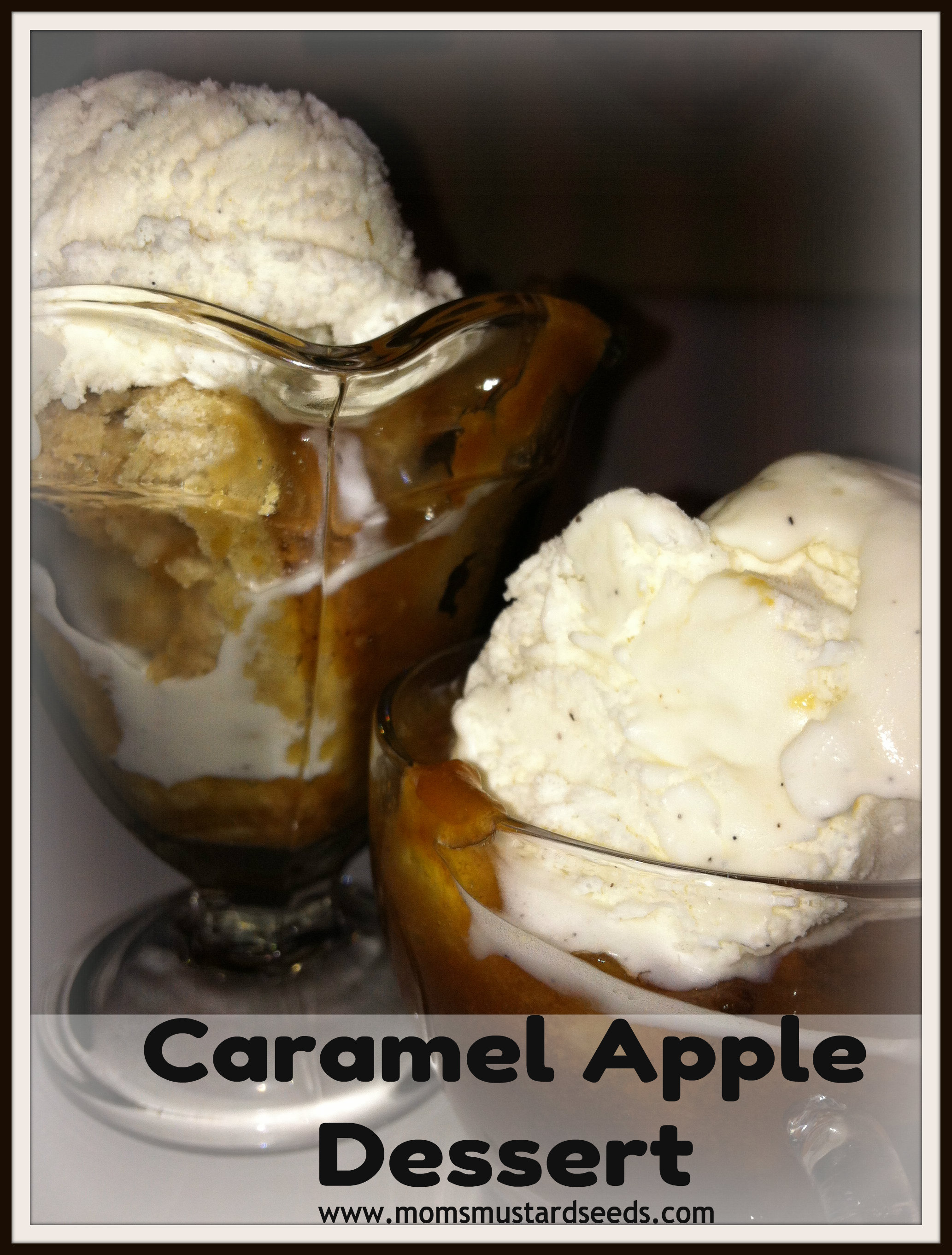 Slow Cooker Caramel Apple Dessert