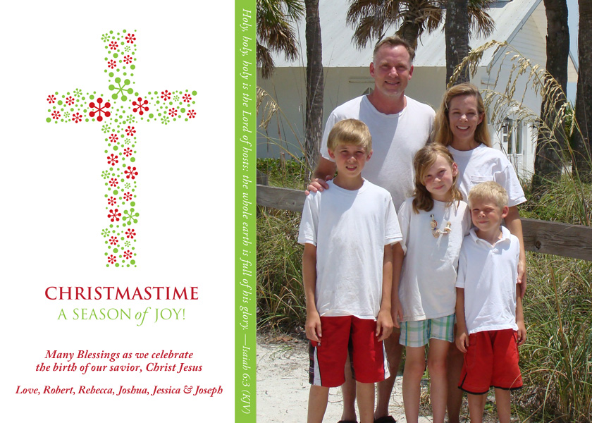 Christmas Card from The Little Card Company
