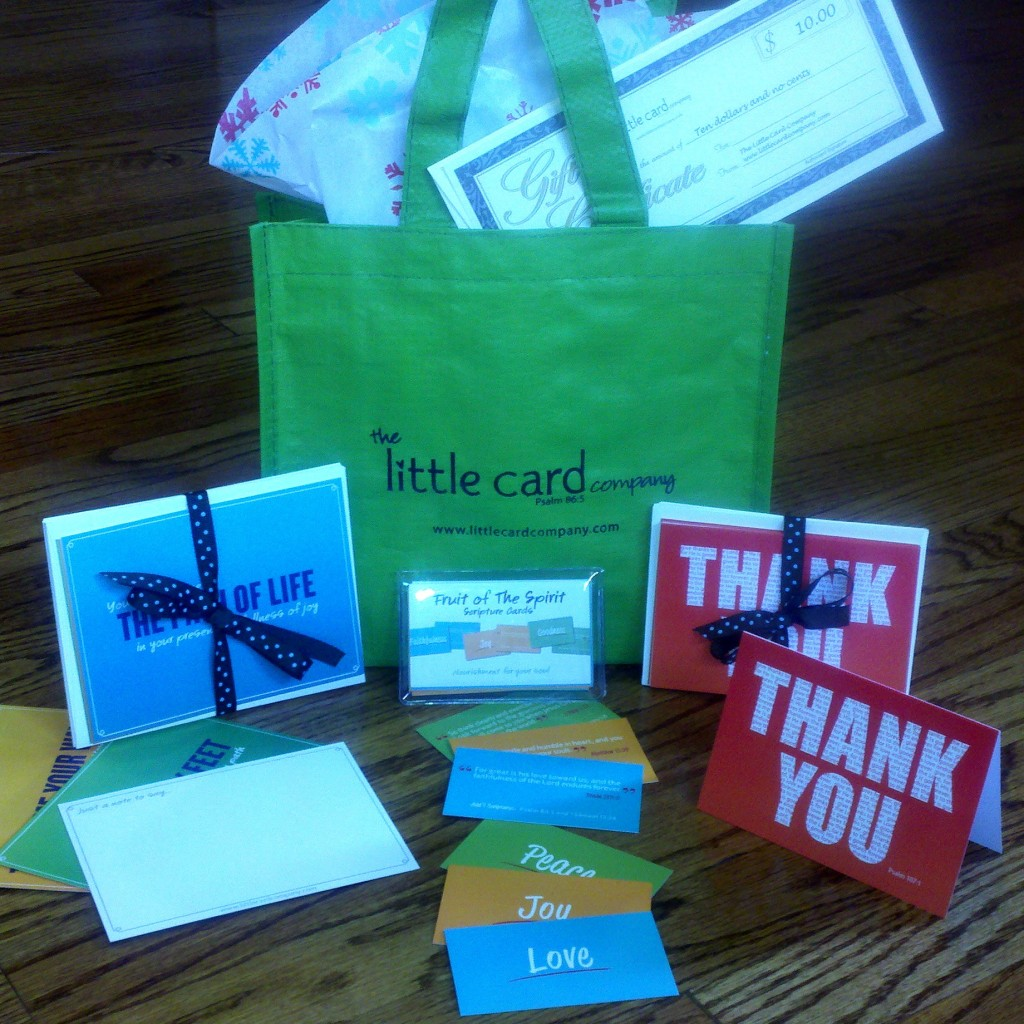 The Little Card Company Giveaway