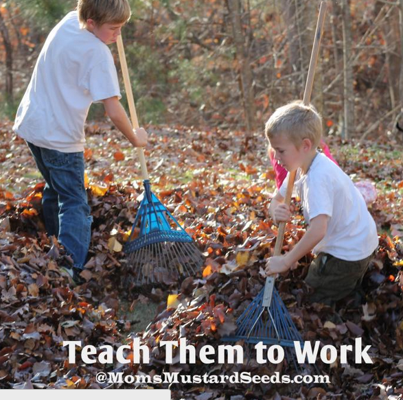 Teach Them to Work