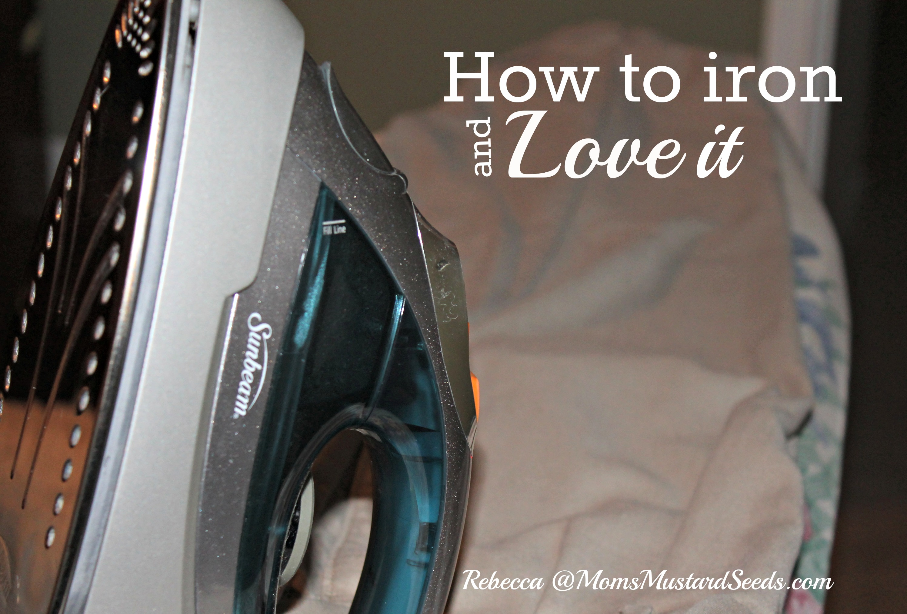 How to iron