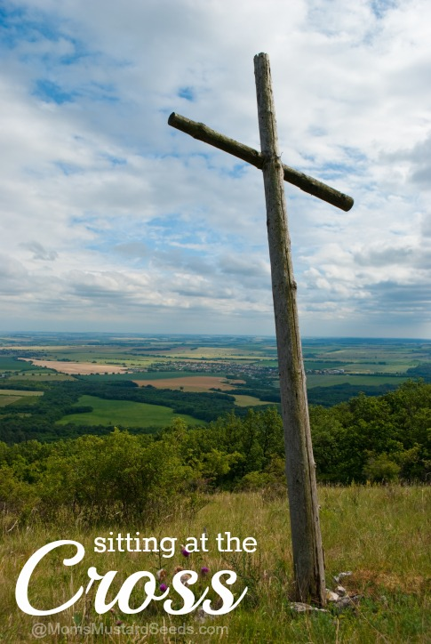Sitting at The Cross