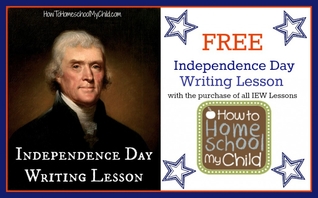 Free Independence Day Writing Lessons