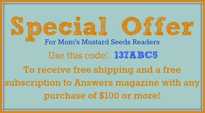Special Offer from Answers In Genesis