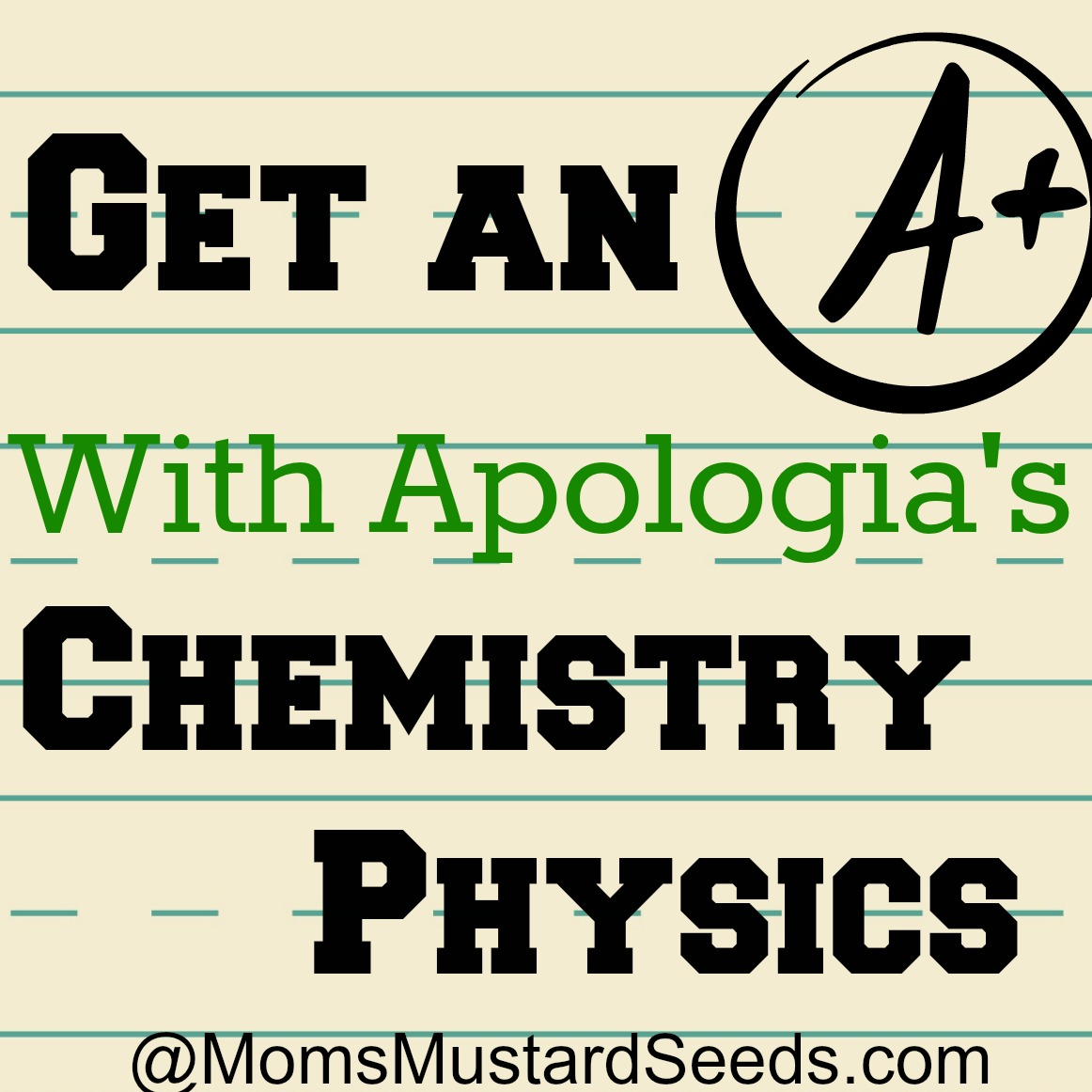 Ultimate Mom Resource: Apologia Exploring Creation with Chemistry and Physics