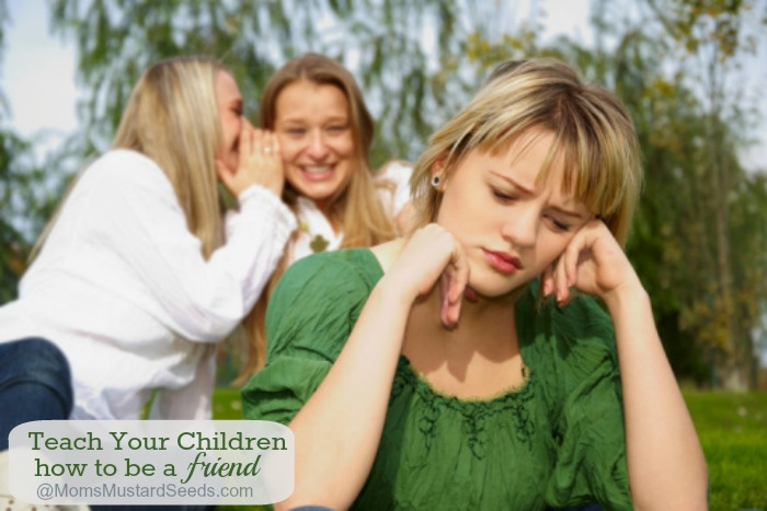 Teach your children How to be a friend