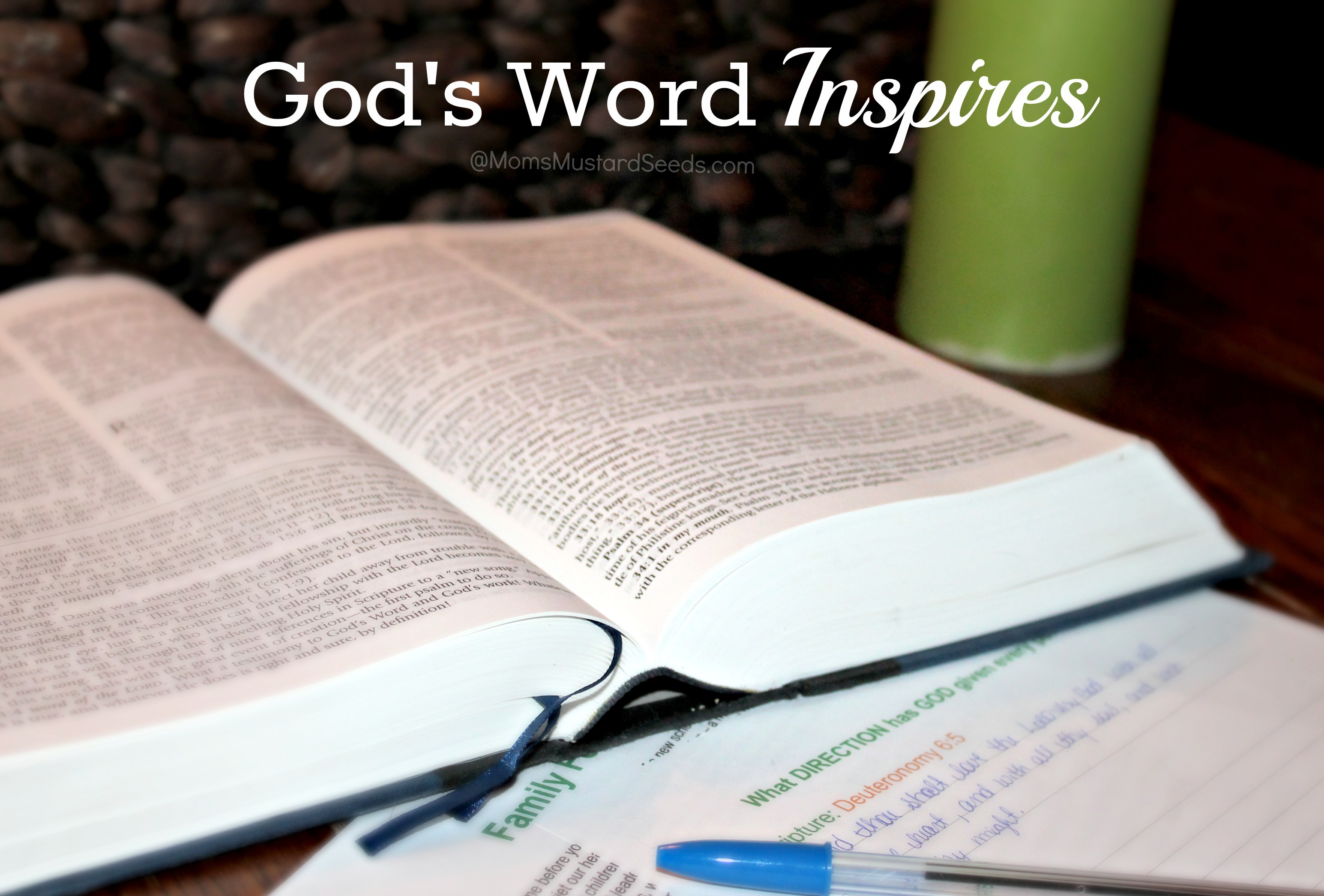 What Happens When Gods Word Inspires