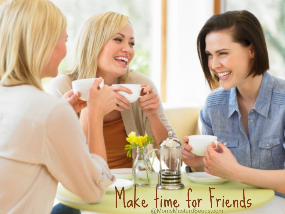 Moms need to make time for friends (with a VLOG) from Mom's Mustard Seeds