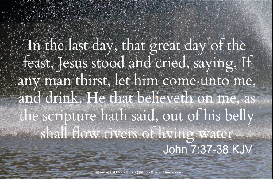 Living Water is available - come and be refreshed