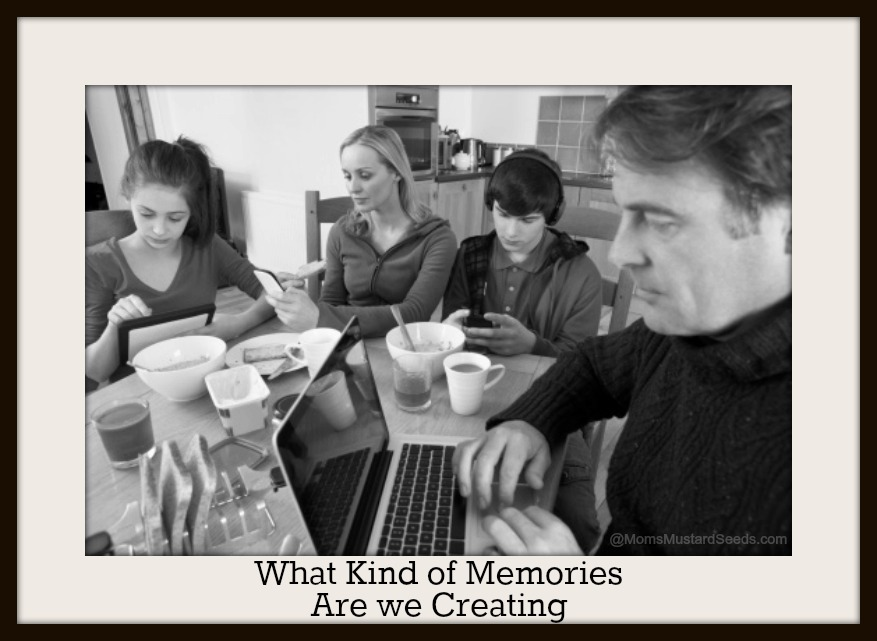What Kind of Memories and Relationships are we creating if we are on our devices more than we are talking, laughing and enjoying life with our friends and family. Let's make changes. Let's grow relationships. Let's teach our children how to communicate with more than their thumbs. Let's life - in fellowship