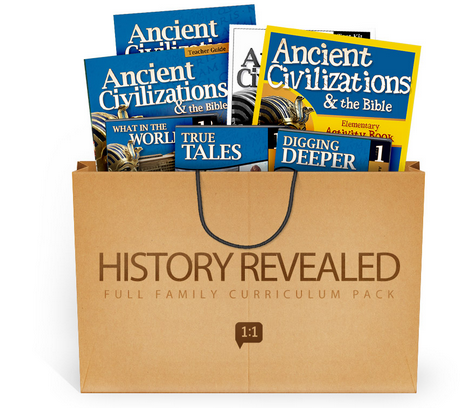 History Revealed Curriculum from Answers in Genesis