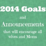 2014 Goals and Announcements