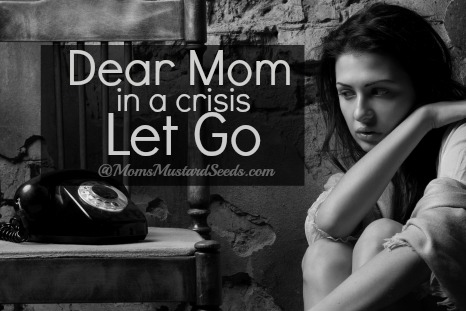 Mom In a Crisis Let Go