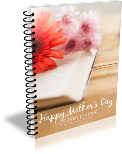 Mother's Day Prayer Journal Book