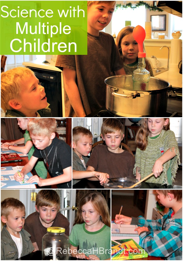 Science with multiple children