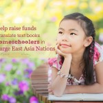 Help raise funds to translate books for homeschoolers in Certain Large East Asian Country