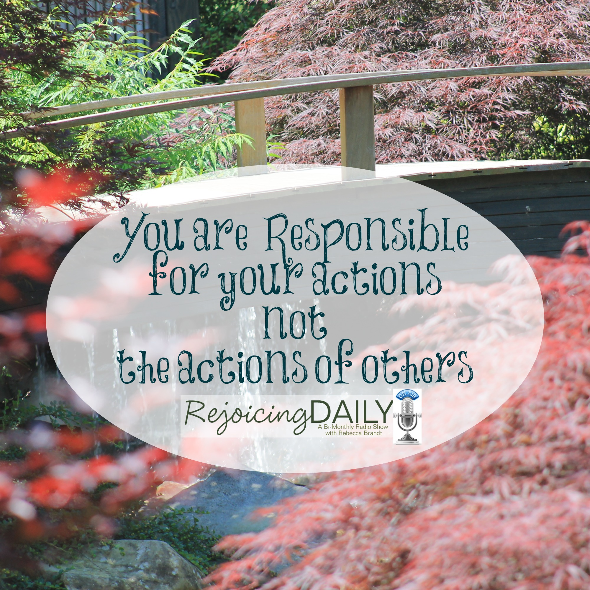 You are Not Responsible for Other People