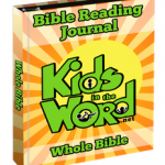 SKids in the Word Bible Reading  Journal Whole Bible