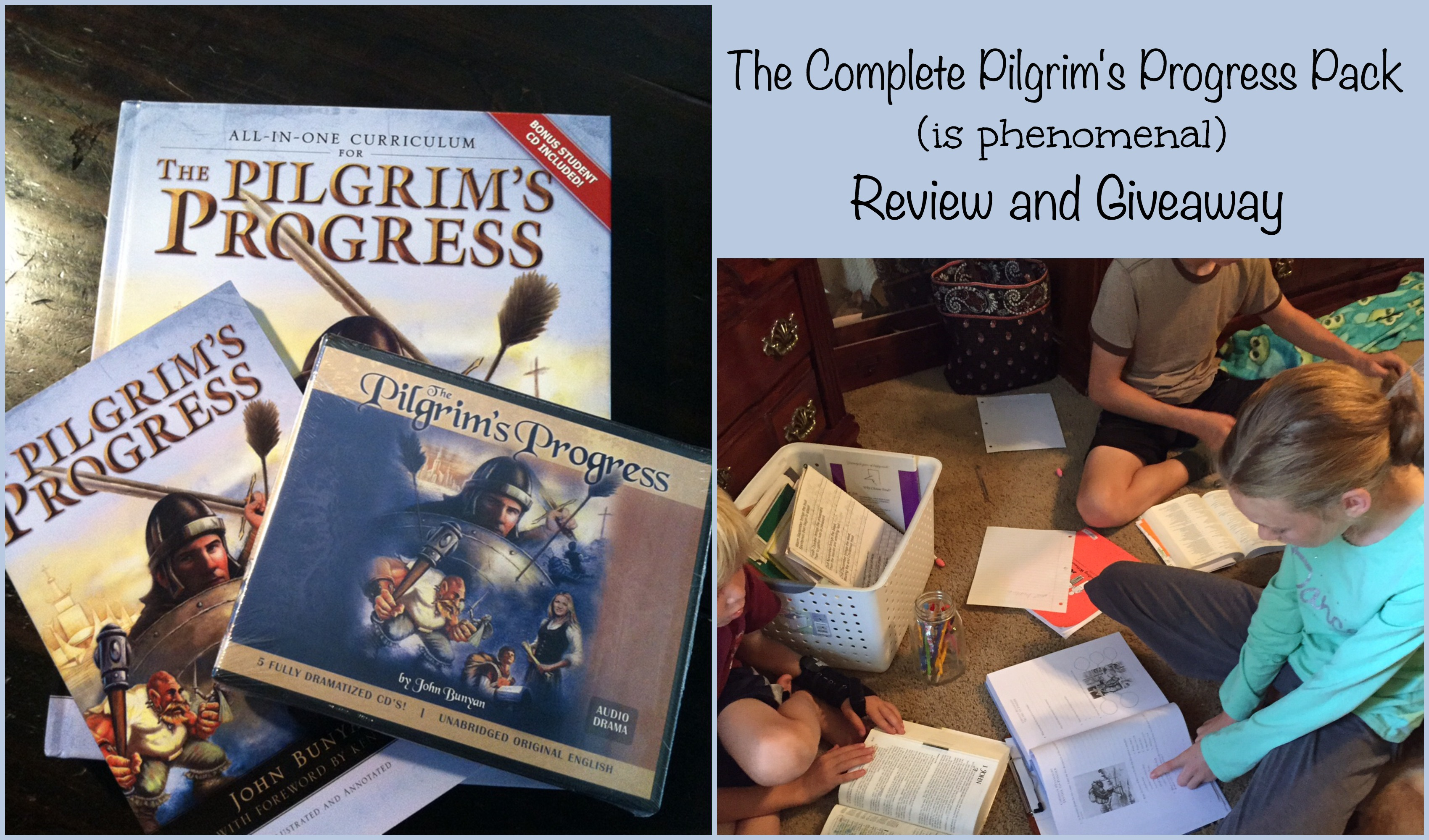 The Complete Pilgrim's Progress Pack Review and Giveaway