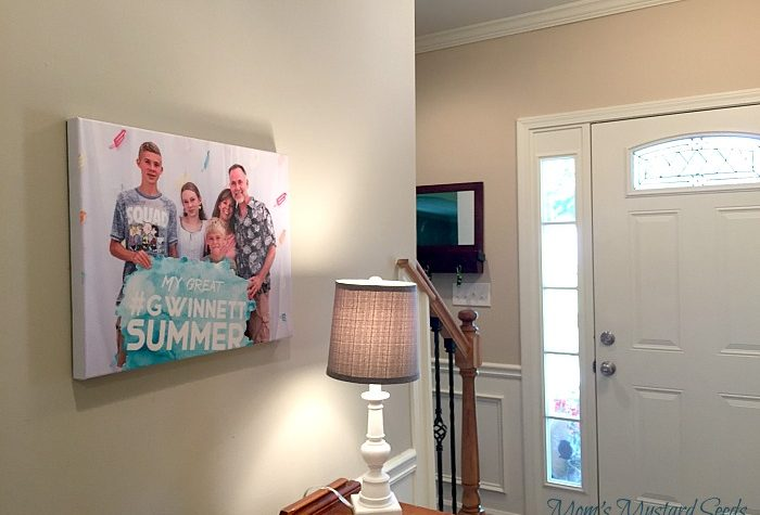 Hang a family Canvas on your walls with this fun giveaway from the Canvas Factory