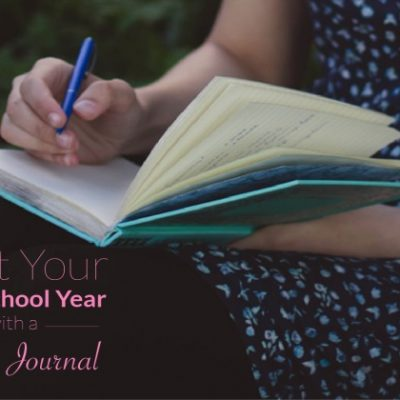 New School Year Prayer Journal