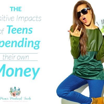 Teens Can Spend Their Own Money