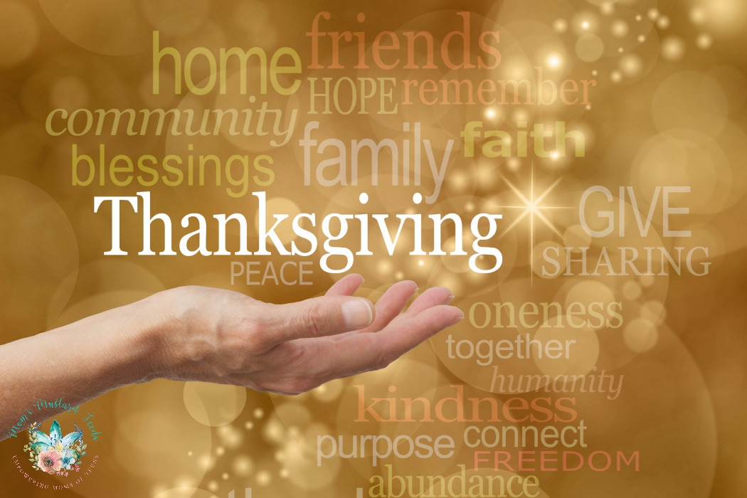 Give Thanks, Respect the Day and Love others more than only wanting to skip through the day for the desires of the heart